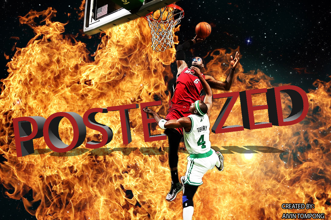 Youdhveer Sekhon...Lebron James Wallpaper Heat Dunk